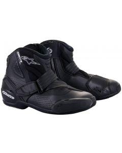 Alpinestars SMX-1 R V2 Vented Shoes Black/Black 1100