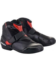 Alpinestars SMX-1 R V2 Vented Shoes Black/Red 13