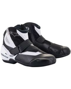 Alpinestars SMX-1 R V2 Vented Shoes Black/White 12
