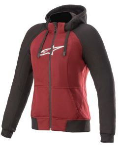 Alpinestars Stella Chrome Sport Hoodie Jasper/Red/Black/White 3052
