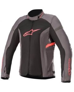 Alpinestars Stella T-Kira V2 Air Jacket Tar Gray/Black/Diva Pink 9138