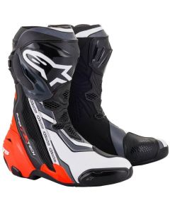 Alpinestars Supertech R 2021 Boots Black/Red/Fluo/White/Gray 1329