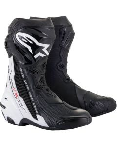 Alpinestars Supertech R 2021 Boots Black/White 12