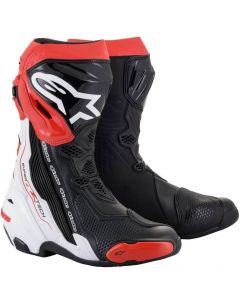 Alpinestars Supertech R 2021 Boots Black/White/Red 123