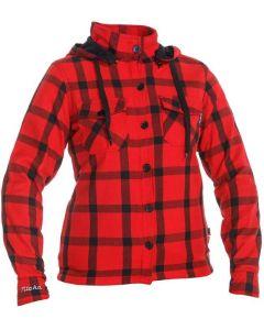 Richa Lumber Lady Hoodie Red 400
