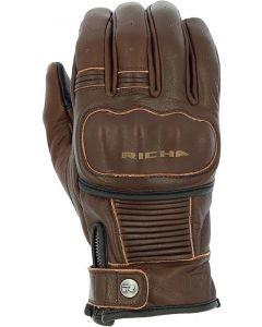 Richa Bobber Gloves Antique Brown 1001