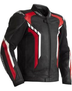 RST Axis Leather Leather Jacket Red