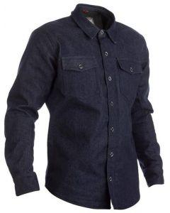 RST Denim Kevlar Shirt Jacket Blue