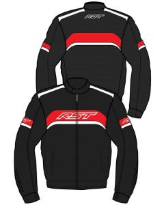 RST Pilot Jacket Black/Red