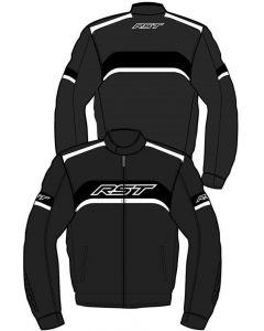 RST Pilot Jacket Black/White