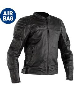 RST Fusion Airbag Leather Jacket Black