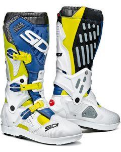 SIDI Atojo SRS Boots Yellow Fluo/white/Blue 117