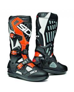 SIDI Atojo SRS Boots White/Black/Orange Fluo 207