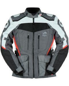 Furygan Apalaches Jacket Vented 2En1 Black/Grey/Red 132