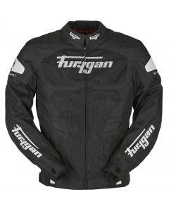 Furygan Atom Jacket Vented Black/White 143
