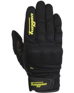 Furygan JET D3O Gloves Black/Fluo Yellow 131