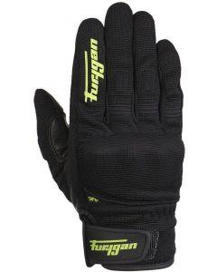 Furygan JET D3O Gloves Black/Fluo Green 125