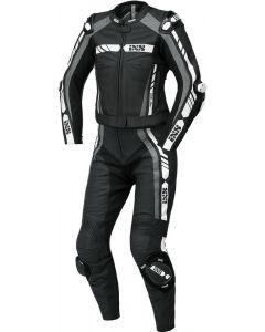 iXS Sport LD Women RS-800 1.0 Twopiece Black/Grey/White
