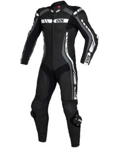 iXS Suit Sport LD RS-800 2.0 1-piece Onepiece Black/Grey/White