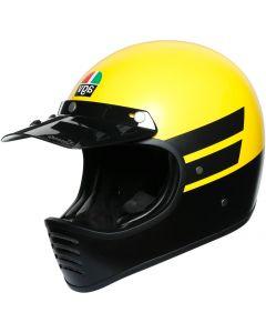 AGV X101 Dust Matt Yellow/Black 002