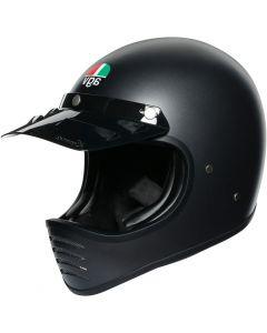 AGV X101 Solid Matt Black 001
