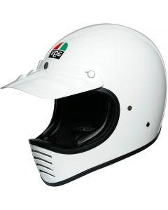 AGV X101 Solid White 002