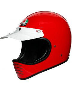 AGV X101 Solid Red 003
