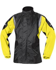 Held Mistral II Rain Jacket Black/Neon Yellow 058