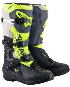 Alpinestars Tech 3 Boots Black/Cool Grey/Yellow Fluo 1055
