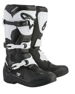 Alpinestars Tech 3 Boots Black/White 12