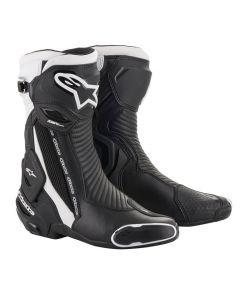 Alpinestars SMX Plus V2 Boots Black/White 12