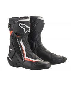 Alpinestars SMX Plus V2 Boots Black/White/Red Fluo 1231