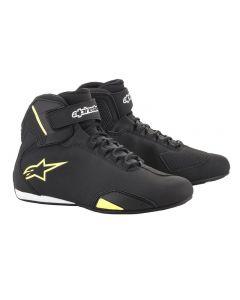 Alpinestars Sektor Shoes Black/Yellow Fluo 155
