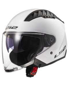 LS2 OF600 Copter Gloss White