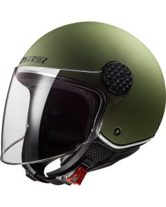 LS2 OF558 Sphere Lux Single Mono Mat Military Green
