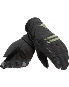 Dainese Plaza 3 D-Dry Lady Gloves Black/Bronze Green O57