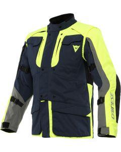 Dainese Alligator Tex Jacket Black Iris/Fluo Yellow/Charcoal 20F