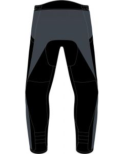 Dainese Tempest 3 D-Dry Lady Trousers Ebony/Black/Lava Red 80E