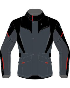 Dainese Tempest 3 D-Dry Jacket Ebony/Black/Lava Red 80E