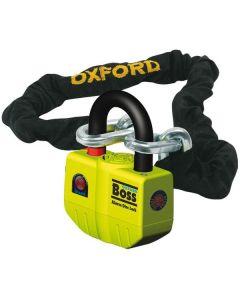 Oxford Boss Kettingslot + alarm ART4 120cm
