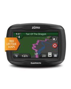 Garmin zumo 390LM + TPMS (bandenspanningmeter)