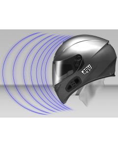 AGV Share Easy Rear Bluetooth Communication System flip-up