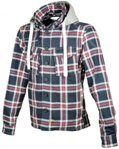 Booster Hunt kevlar hoodie red/blue 583
