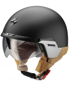Scorpion EXO-100 PADOVA II Black Matt/Brown