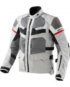 REV'IT Cayenne Jacket Pro Light Grey/Red