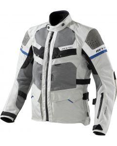 REV'IT Cayenne Jacket Pro Light Grey/Blue