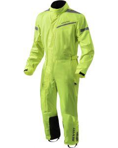 REV'IT Rainsuit Pacific 2 H2O Neon Yellow/Black