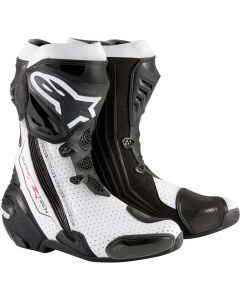 Alpinestars Supertech R Vented Black/White 122