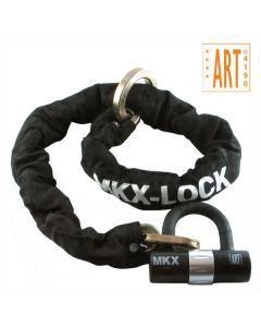 MKX kettingslot met loop / ring ART4 120cm