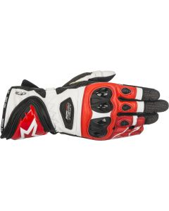 Alpinestars Supertech Gloves Black/White/Red 123
